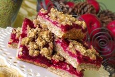Sour Cherry Oat Bar